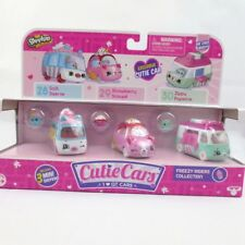 Shopkins Cutie Cars Freezy Riders Collection Exclusive Car 3 Pack Cars New