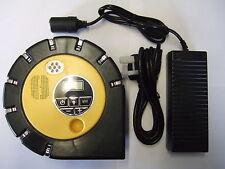 High Power Digital 12V Tyre Inflator, Air Compressor & Mains Power Supply