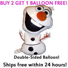 HUGE **OLAF** Frozen Movie 2-Sided Mylar Jumbo Balloon Birthday Party Supplies