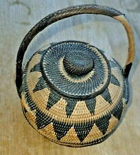 woven basket, Southern highlands, Papua New Guinea, vintage