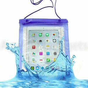 """Waterproof universal case cover bag pouch for tablet Lenovo Samsung iPad 10"""""""