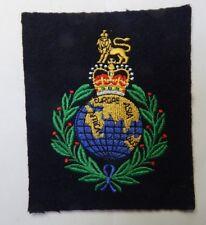 1960's Royal Marines Cloth Badge patch Nice quality 11cm x 9cm