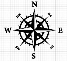 Nautical Compass Decal for 20oz or 30 Insulated Cup ***AVAILABLE 20 COLORS***