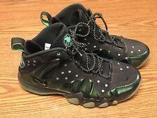 Nike 555097-301 Air Barkley Posite Max Gamma Green Black Men's Shoes Sz 10