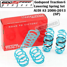 GODSPEED TRACTION-S LOWERING COIL SPRINGS SUSPENSION FOR AUDI A3 2006-2013 8P