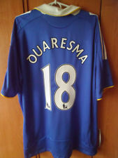 VER RARE!!!! QUARESMA !!! 2008-09 Chelsea Shirt Jersey Trikot XL