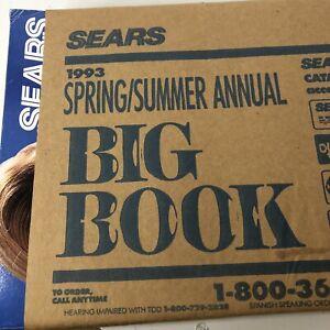 SEARS ROEBUCK BIG BOOK 1993 Spring / Summer Annual  Catalog LAST YEAR PUBLISHED