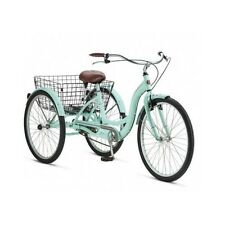 Tricycle Adult Trike For Women Men Cycle 3-Wheel Bike Tri Bicycle Beach Cruiser