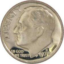 1970 S 10c Roosevelt Dime US Coin Choice Proof