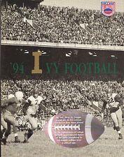 1994 IVY LEAGUE NCAA FOOTBALL MEDIA GUIDE