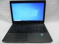"HP ZBook 15 G2 15.6"" Windows 10 Intel i7-4810MQ 2.80Ghz 8GB RAM 250GB SSD"