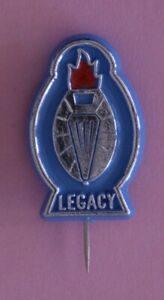 New Legacy Collector Badge - retro blue oval