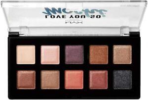 NYX Love Yo So Mochi Eyeshadow Palette LYSMSP02 Sleek and Chic