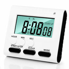 Betus Upgraded Digital Dual Kitchen Timer - Large Digits, Loud Alarm