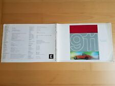 PROSPEKT brochure english PORSCHE 911 2,0 1965 04.65