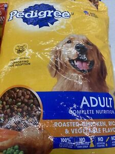 PEDIGREE Adult Dry Dog Food Roasted Chicken, Rice & Vegetable Flavor, 50 lb. Bag