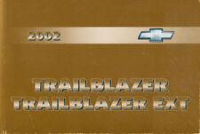 02 chevy trailblazer owners manual pdf