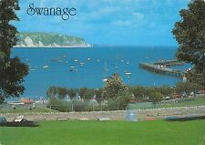 B100169 the pier and bay swanage uk