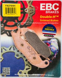 EBC HONDA DISC BRAKE PAD SET FA375HH HI-PERFORMANCE GROM MSX125 CBR125 61-3787