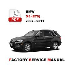 bmw bmw e70 x5 in service repair manuals ebay rh ebay ca 2007 bmw x5 manual pdf 2007 bmw x5 service manual