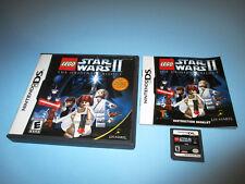 LEGO Star Wars II: The Original Trilogy Nintendo DS Lite DSi XL w/Case & Manual