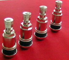 4x METALLVENTILE REIFENVENTILE METAL VALVES BROCK BARRACUDA OZ ENKEI RIAL OXIGIN
