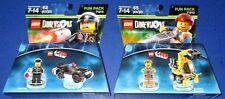 Lego Dimensions -Lego Movie- Emmet FP# 71212 + Bad Cop FP# 71213 *New-Free Ship!