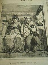 Typo 1873 - Un train de plaisir en Espagne