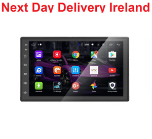 Android Double 2 Din GPS AUX-in USB Car Stereo FM Radio Head Unit Maps Handsfree