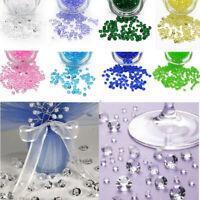 4.5mm Acrylic Diamond Clear Crystal Confetti Wedding Decoration 1000~10000pcs