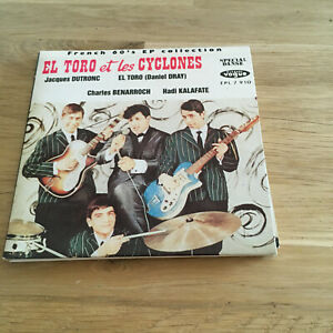 El Toro Et Les Cyclones – French 60's EP Collection  -  CD - EX!!!