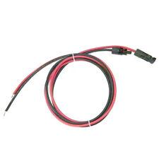kit Cavo Solare FG21M2 5m Rosso e 5m Nero 4mmq + 2 Connettori MC4 fotovoltaico