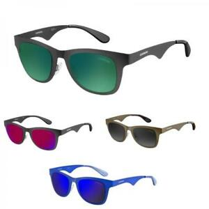 Occhiali da sole CARRERA 6000/MT A Specchio Colorati Nero Rosso Verde Blu Unisex