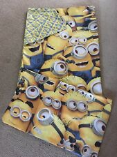 Minion single bed quilt cover