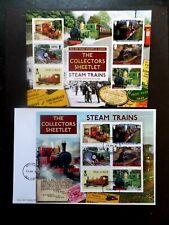 Moteur de chemin de fer train à vapeur LOCOMOTIVE LNER 2001 Cock O le Nord Carte Anniversaire