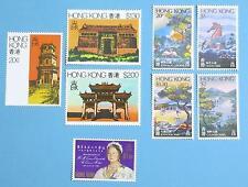 Hong Kong 1980 Year Full set Stamps MNH