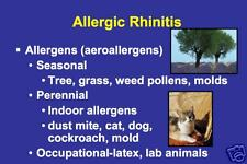 191 page Allergy ALLERGIC DISEASES PowerPoint Presentation on CD