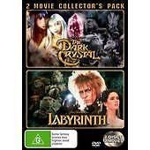 Labyrinth  / Dark Crystal (DVD, 2007, 2-Disc Set)