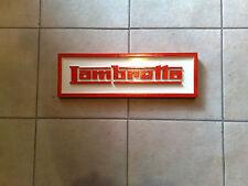 Lambretta wall plaque/sign/logo