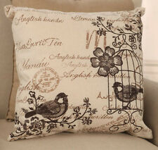 Cushion Cover Birdcage Script French Provincial Throw Pillow Home Decor NEW