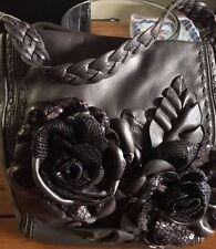 Brighton Rhapsody leather handbag/purse/shoulder  NWT H33662 Pewter
