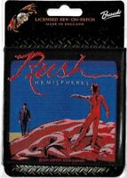 Official Licensed Merch Woven Sew-on PATCH Rock : RUSH : Hemispheres