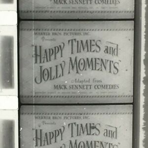 16mm Film HAPPY TIMES & JOLLY MOMENTS Keystone Comedy Compilation Great Clips