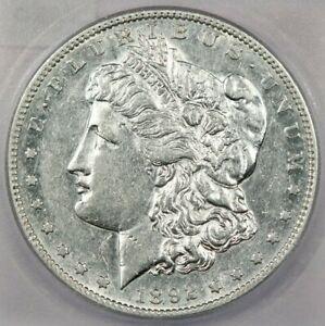1892-S Morgan Silver Dollar ICG AU50