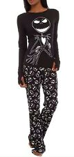 NIGHTMARE BEFORE CHRISTMAS JACK GLOW IN THE DARK PAJAMAS COSTUME NEW S LAST ONE