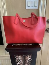 NWT TORY BURCH PRODY LIBERTY TOTE RED/BEIGE SHOULDER BAG