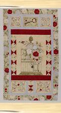 Fabric Troy Riverwoods My Secret Garden Panel Pearl Krush Roses Birdcage