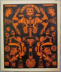 Wirsum rare MoMing Masked Ball poster 1977
