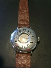 Waltham Sterling Silver Antique Rare Wrist Watch from 1901 Runs Recent Service