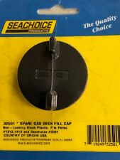 DECK FILL REPLACEMENT GAS CAP PLASTIC SEACHOICE 32501 PERKO BOAT MARINE PARTS